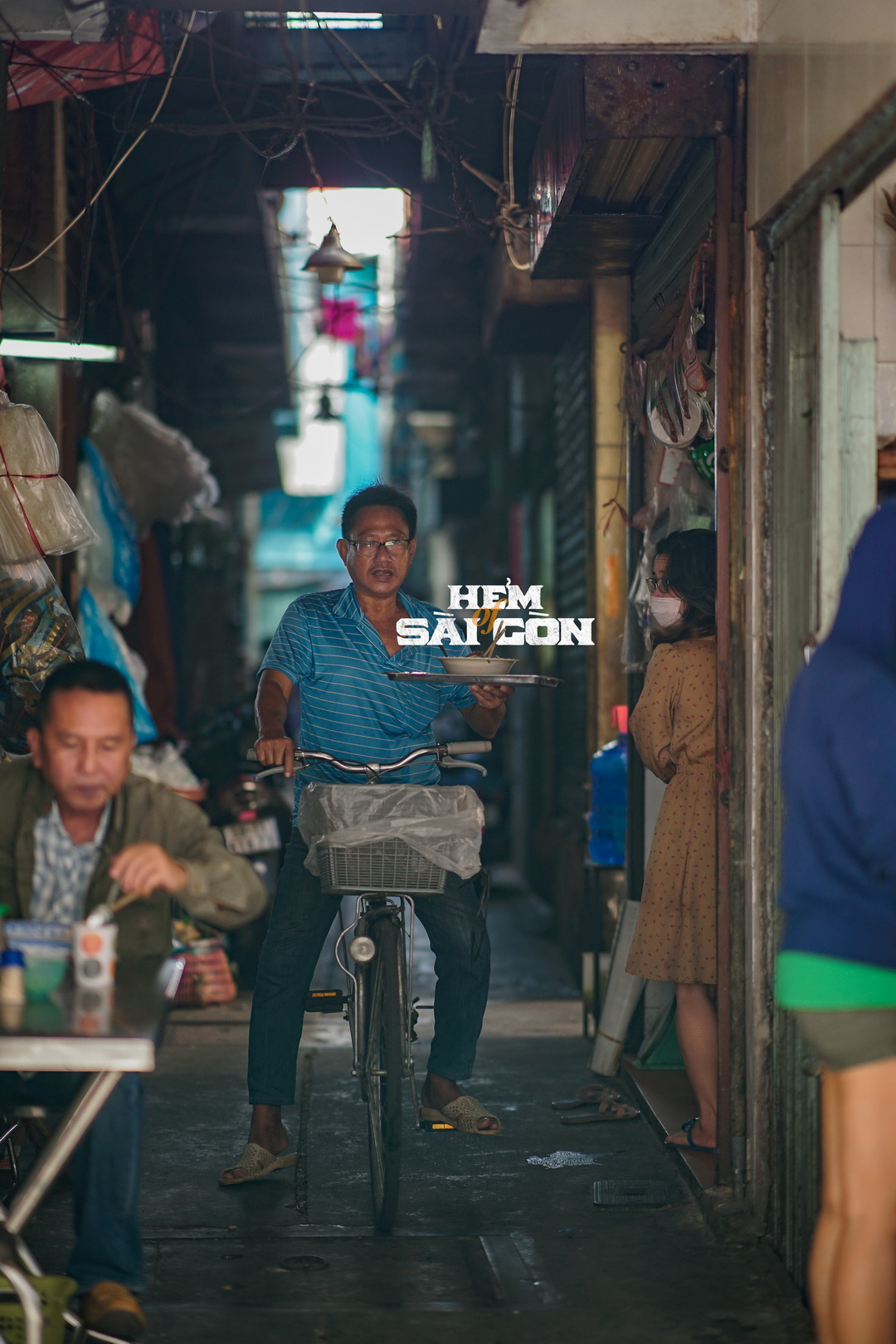 A photo from Nguyen's 'Saigon Alleys' photo series