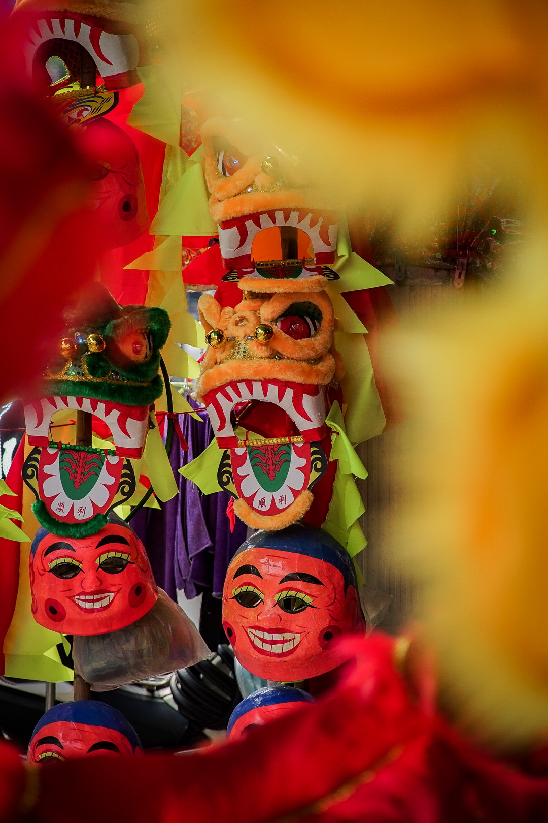 A photo from Nguyen took in Saigon under the theme of Tet (Vietnamese Lunar New Year) celebrations