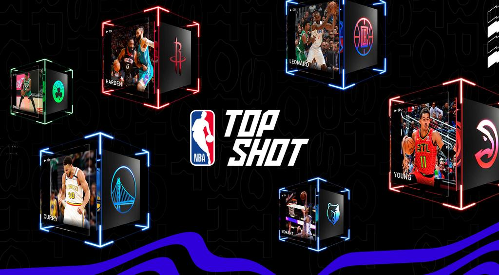 Images created for the launch of NBA Top Shot, an online platform which allows users to buy and trade videos of basketball highlights. Photo: Dapper Labs/via REUTERS