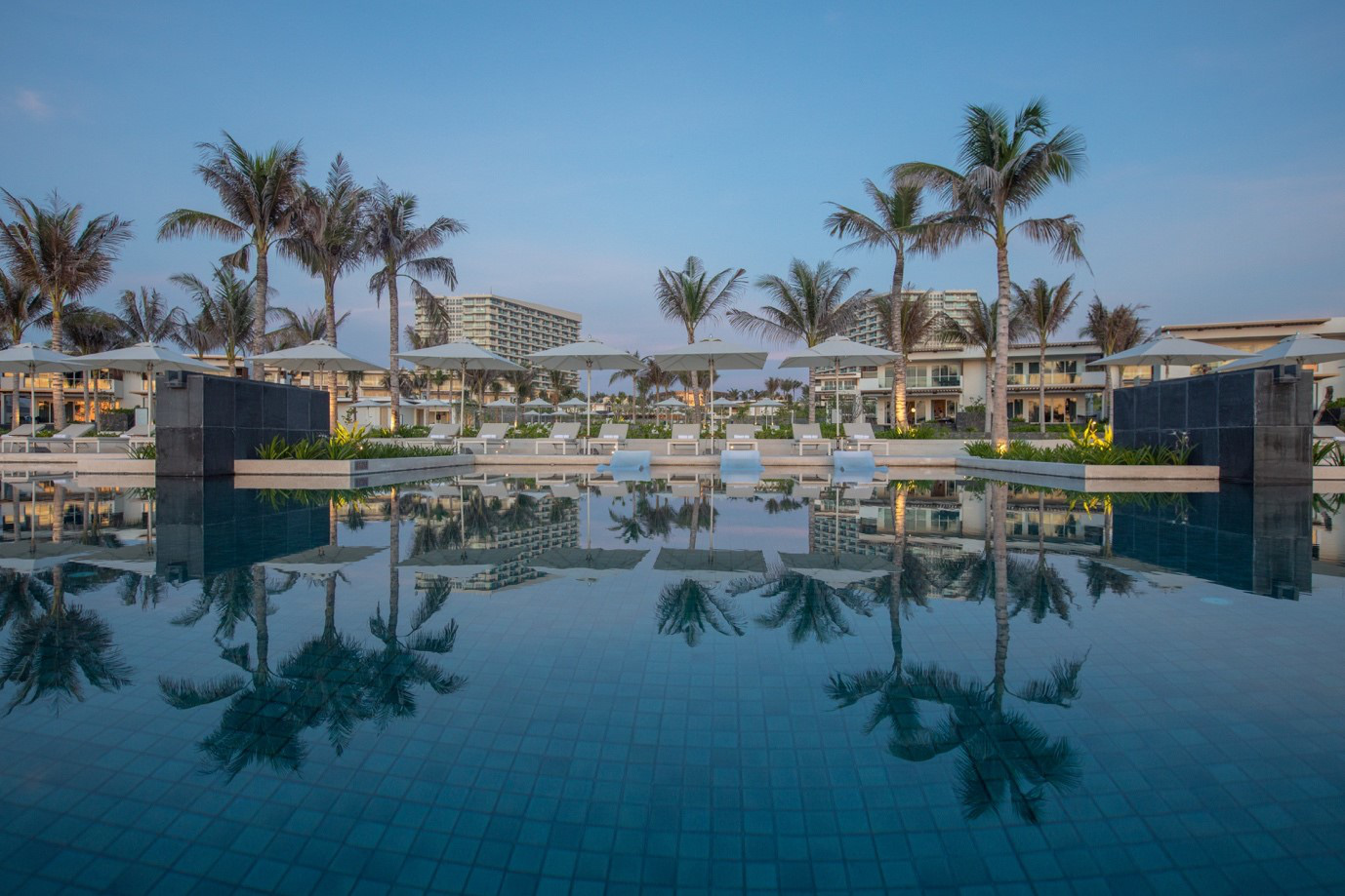 A view of ALMA Resort in Khanh Hoa Province, Vietnam.