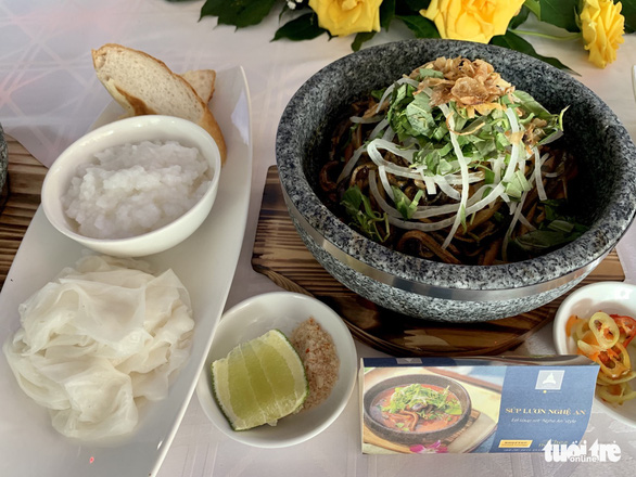 Nghe An Eel soup, one of Vietnam's top 100 best dishes 2020-2021 according to a list announced by Vietkings and VietTop. Photo: Phuong Nam / Tuoi Tre